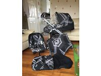 3 in 1 mamas and papas switch travel system