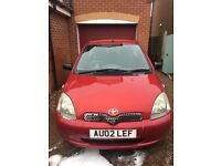 TOYOTA YARIS ONLY £350