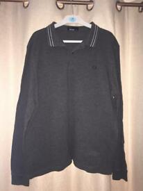 Men's long sleeve Fred Perry top