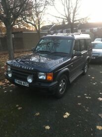 Landrover discovery td5. Swaps for a transit van