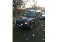 Landrover discovery td5. Swaps for a transit van or bmw