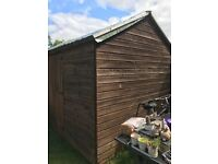Heavy Duty tongue and groove 10 x 8ft shed