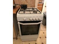 Freestanding gas cooker for sale ,only 2yrs old in good condition