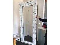Exterior door frame