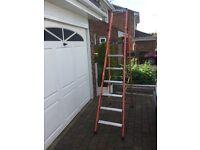 large alluminuim step ladders