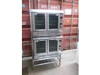 Falcon Dominator G2112/2 Fan Assisted Double Nat Gas BAKERY Convection Oven 38kw