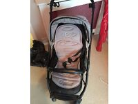 Oyster Pram and carrycot