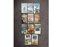 11 Thriller/Adventure Books.