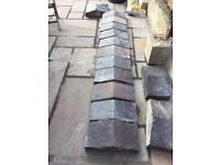 Victorian Stafford blue Coping Stones