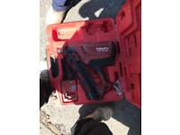Hilti nail gun , excellent working order , 2 batteries 150£