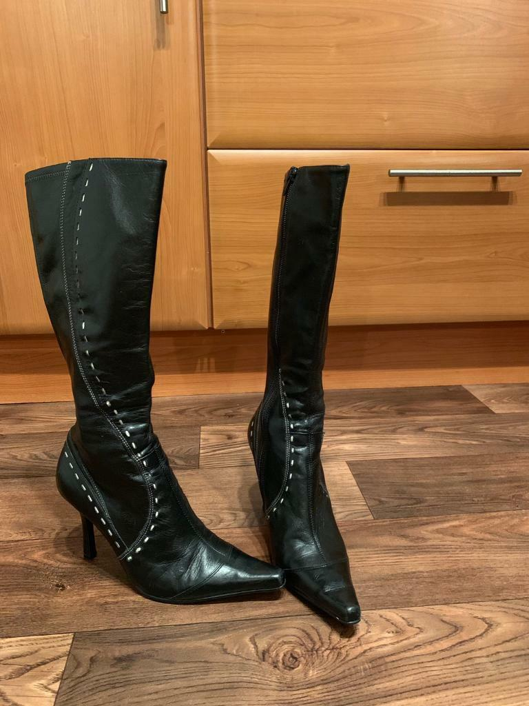 Leather Women's Faith BootsIn Gumtree LarbertFalkirk 29eYEHIDW