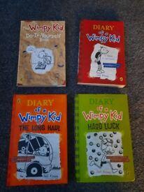4 wimpy books