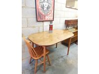 Mid Century Retro Dining Table by Dinnette