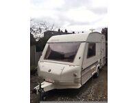 Caravan 2 Berth Alpine Sprite and Extras