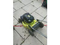 Ryobi petrol lawn mower might swap for something