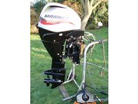 Outboard Engine. 2013 Mariner 30hp EFI Four Stroke Power trim. Immaculate Condition.