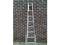 Aluminium Ladders (7ft) with self levelling legs & octopus feet