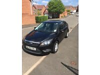 Ford Focus 1.6L petrol 2009 plate black car