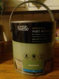 Green matt emulsion 2.5L sealed