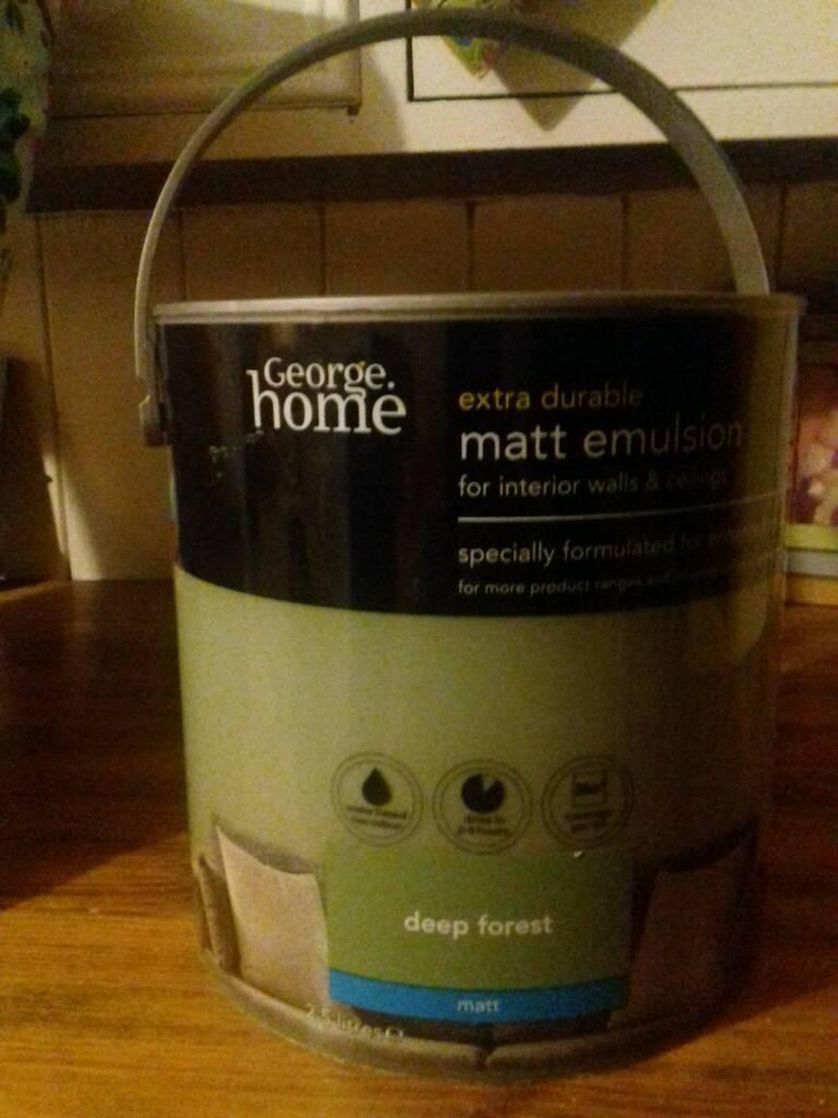 Green matt emulsion 2.5L sealed