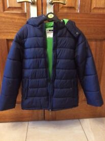 Boys (age 12 years) winter coat with hood