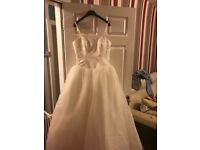 Brand New With Tags, Ivory Berketex Princess Wedding Dress - Size 12 For Sale!