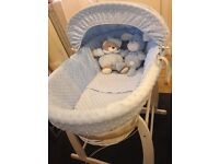 Baby Boys Moses Basket