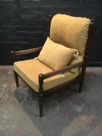 Beautiful quality vintage armchair