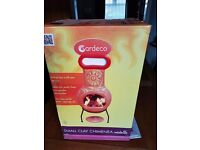 Gardeco Small clay chimenea. New and in original packaging.