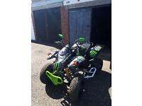 Quadzilla quad road legal minted