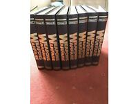 Weapons and warfare-Purnells Collectable weekly magazines - full set 8 volumes - excellent condition