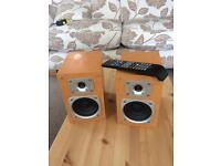 Pair of TEAC speakers, untested