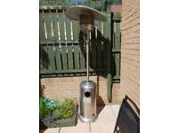 Patio Heater and Gas Bottle