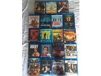 19 blu rays for sale