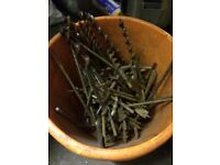 Drill bits Augers