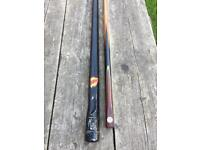 BURROUGHES & WATTS - RARE 'NORFOLK' Snooker cue