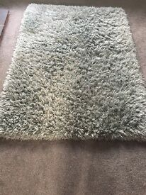 Duck egg colour rug