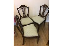 3 x chairs (accept offers)