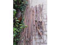 Old cast iron fencing FREE