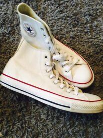 Converse hi tops leather