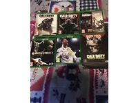 Xbox One 500GB, 1 controller, hdmi, headset & 6 games... find photos attached