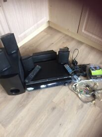 Sony 5.1 surround system & a DVD player