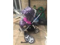 Mamas and papas sola pushchair & mtx wheel accessory pack.