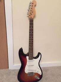 Fender imitation guitar