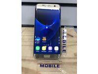**12 MONTHS WARRANTY** Samsung Galaxy S7 Unlocked in Gold Immaculate Condition