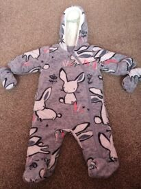 Next All in One Suit 0-3 months