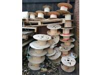 Used cable drums - FREE!