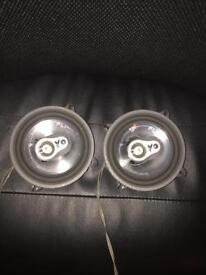 * URGENT * FLI AUDIO F15 car speakers 180W