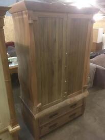 Huge solid hardwood wardrobe