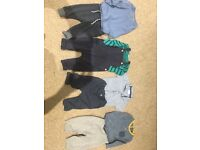 4 baby boy outfits 6/9months